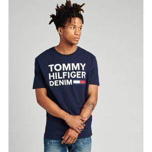 NEW Tommy Hilfiger Lock Up Flag Short Sleeve Tee
